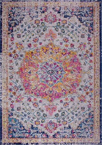 Ladole Rugs Multicolor Traditional Indoor Outdoor Durable Soft Area Rug Living Room Bedroom Entrance Hallway Carpet 7×10 6 5 x 9 5 200cm x 290cm 5×7 8×10 9×12 2×10 4×6 feet