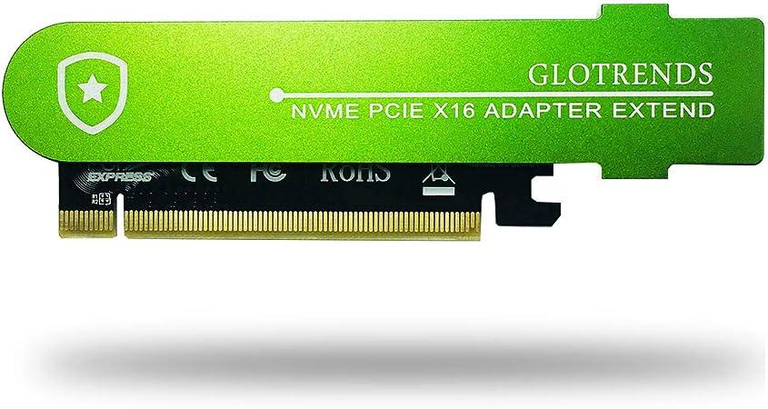 Glotrends 22110 Pcie M 2 Adapter Nvme Adapterkarte Mit Computer Zubehör