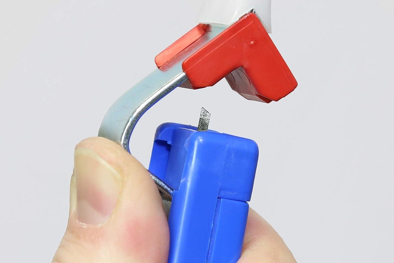 rojo//azul 180mm para Cables con un diamtero Exterior Entre 4-28 mm WEICON 50053328 Pelacables No.C 4-28