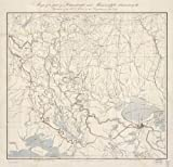 Map Poster - Map of a part of Louisiana and Mississippi illustrating the oper...