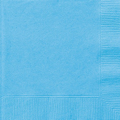 Light Blue Paper Napkins 50ct