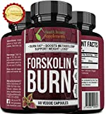 ** MEGA FORSKOLIN BURN ** Best Most Proven Forskolin Supplement - Maximum Potency - Maximum Weight Loss Results - Top Rated Natural Supplement - perdida de peso rapido