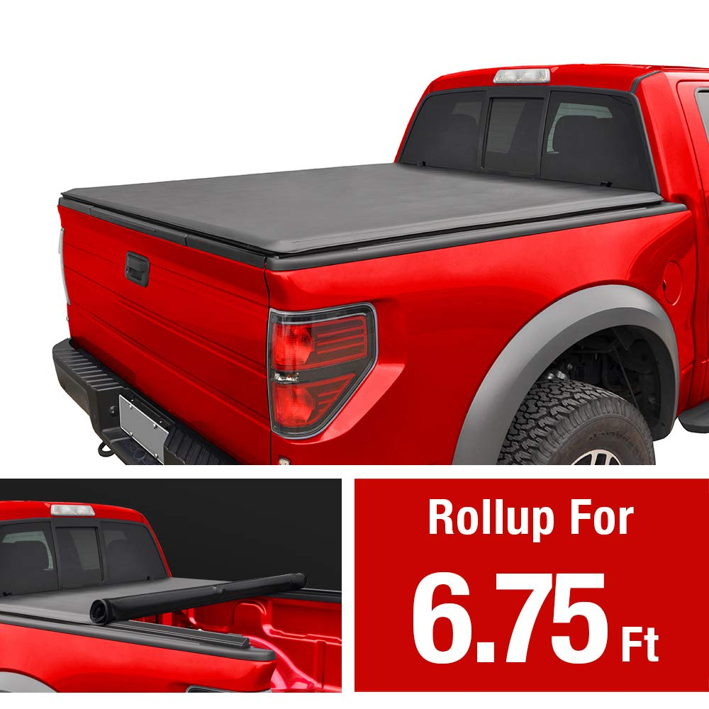 MaxMate Roll Up Truck Bed Tonneau Cover Works with 1999-2016 Ford F-250 F-350 F-450 Super Duty | Styleside 8' Bed