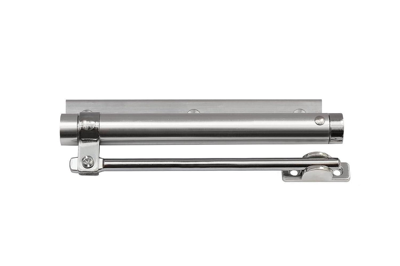 auch in der 90/° Haltefunktion erh/ältlich! Stangent/ürschlie/ßer Hydraulischer T/ürschlie/ßer 8 Modelle Hydraulisch bis 65kg//90/°