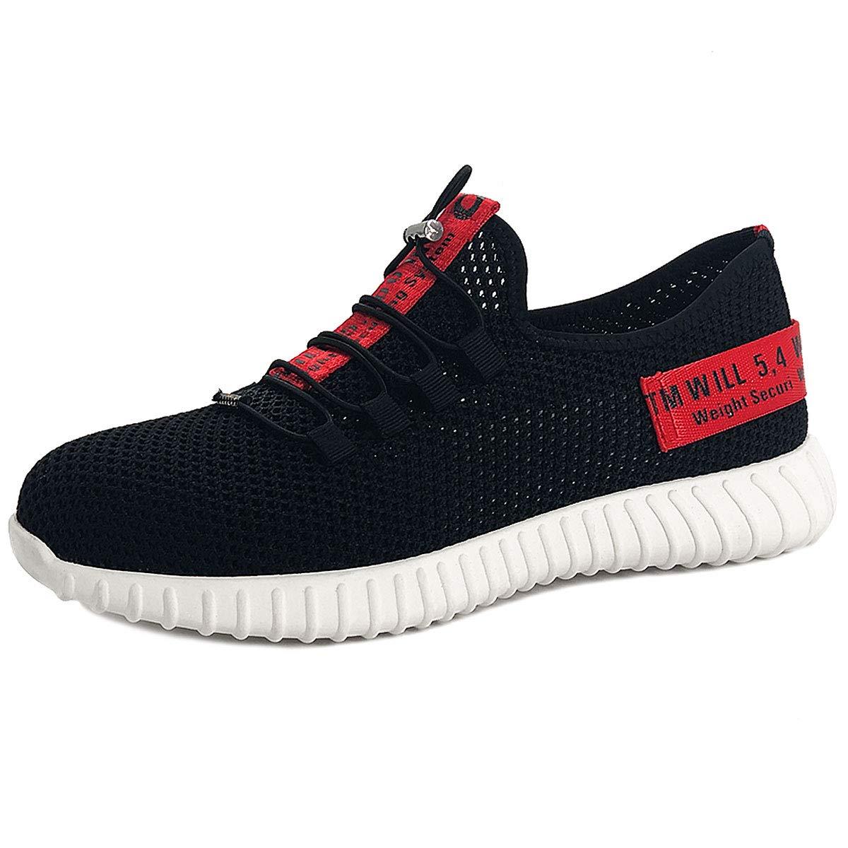 CHNHIRA Chaussures de Sécurité Homme Embout Acier Protection Léger Basket Chaussures de...