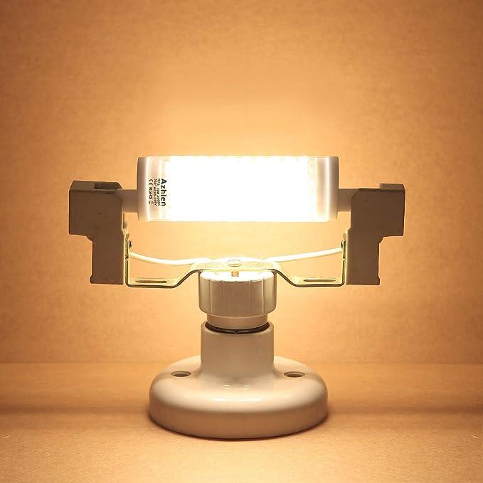 R7S LED 15W 118mm Regulable Lámpara de reflector Azhien, blanco ...