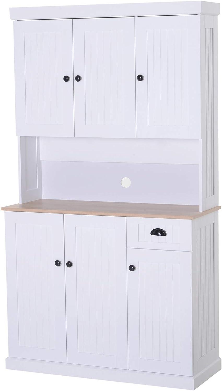 Amazon.com: HOMCOM - Mueble de madera de 71 pulgadas, para ...