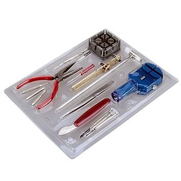 Revesun - Set de herramientas para relojes, 16 piezas: Amazon.es: Electrónica