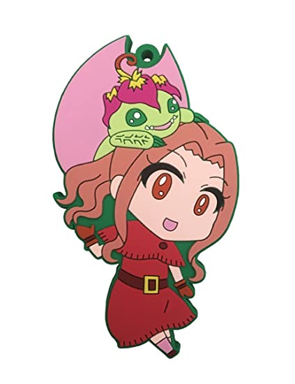 Amazon.com: Digimon Adventure: Mimi y Palmon PVC Llavero ...