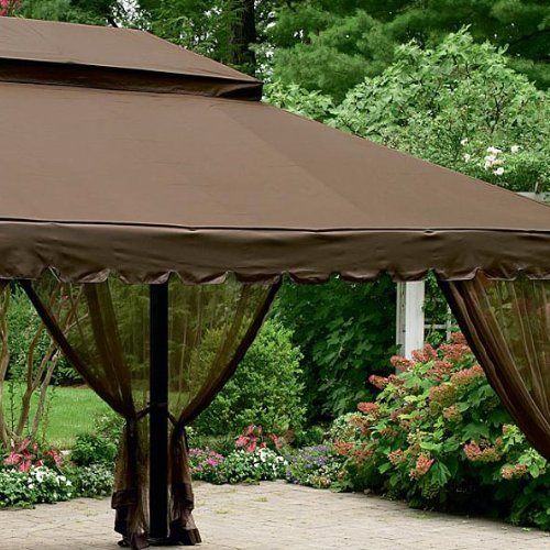 12 16 Canopy : Ft gazebo replacement canopy gazebos patio and