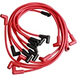 9 Pack 8mm Spark Plug Wires 4048 Super Performance Ignition Wires for Buick Checker Chevrolet GMC