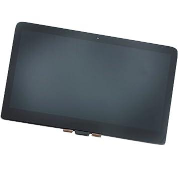 mooyes® 13.3 pulgadas LED LCD pantalla táctil Asamblea para HP Spectre x360 13 - 4005DX 1080P portátil: Amazon.es: Electrónica
