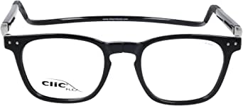 CLIC Reading Glasses, FLEX CMX-NNN S.Black +02.50