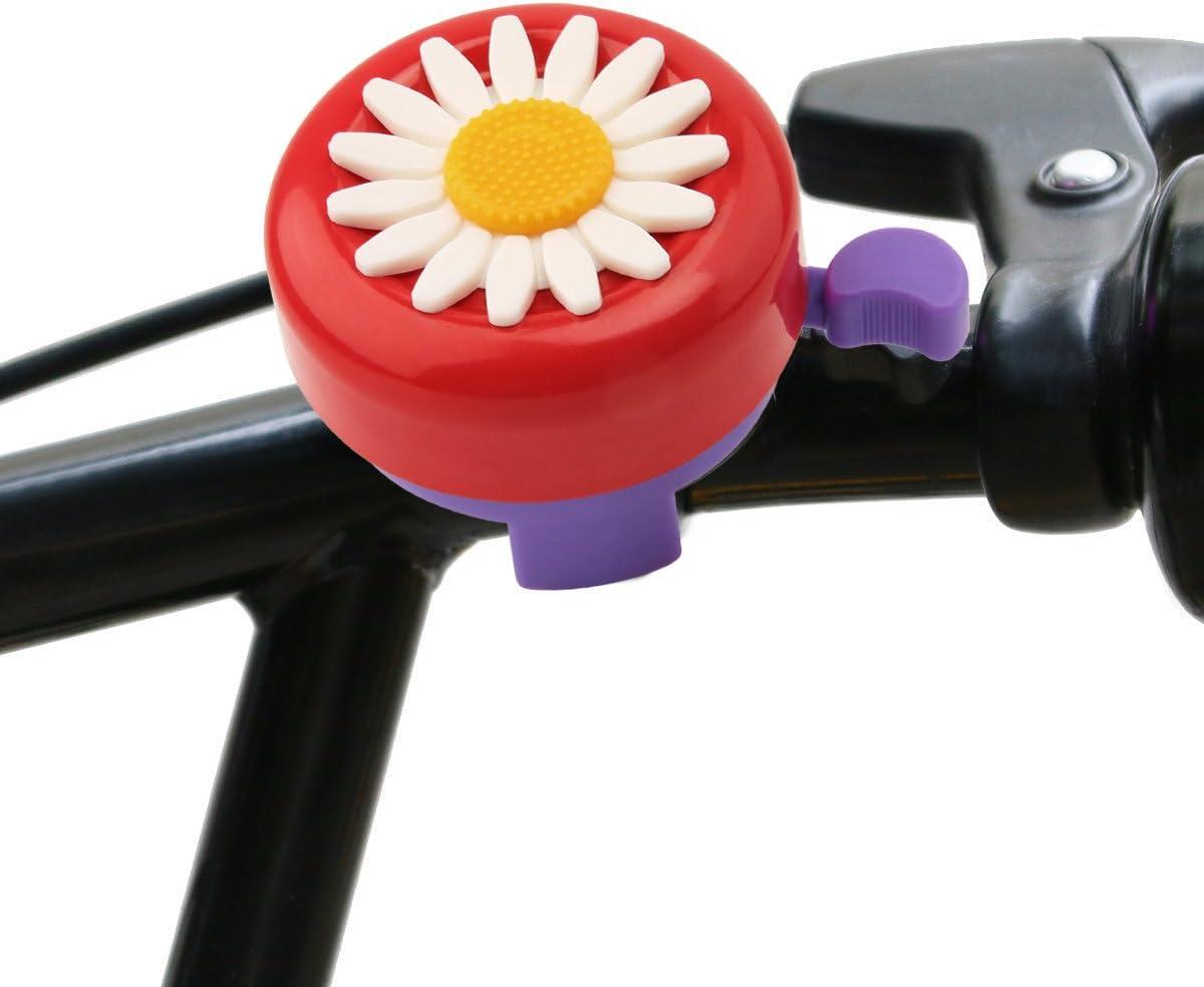 Paliston Campana de Bicicleta para Ni/ños Timbre de Bicicleta para Ni/ñas