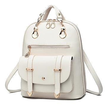RFVBNM Woman fashion PU leather shoulder bag female backpack leisure  Waterproof Backpack Lady bag girl bag 83e8fcce4ada9