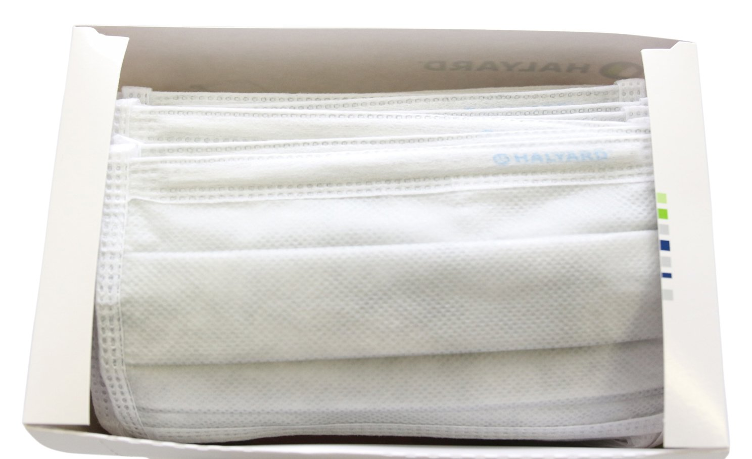 Halyard Health 47625 High Filtration Surgical Mask, Non-Sterile, Silver (6 Boxes of 35, 210 Total)