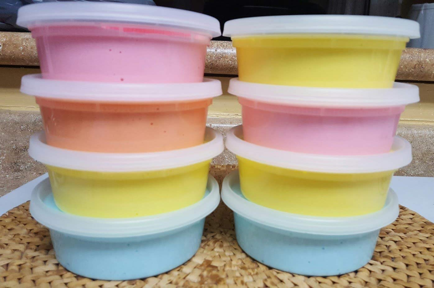 or cloud creme scented clicky butter floam One Mystery Slime BIG 8oz Container stretchy pink or ? Random blue MYSTERY 8oz Homemade SLIME Surprise fluffy