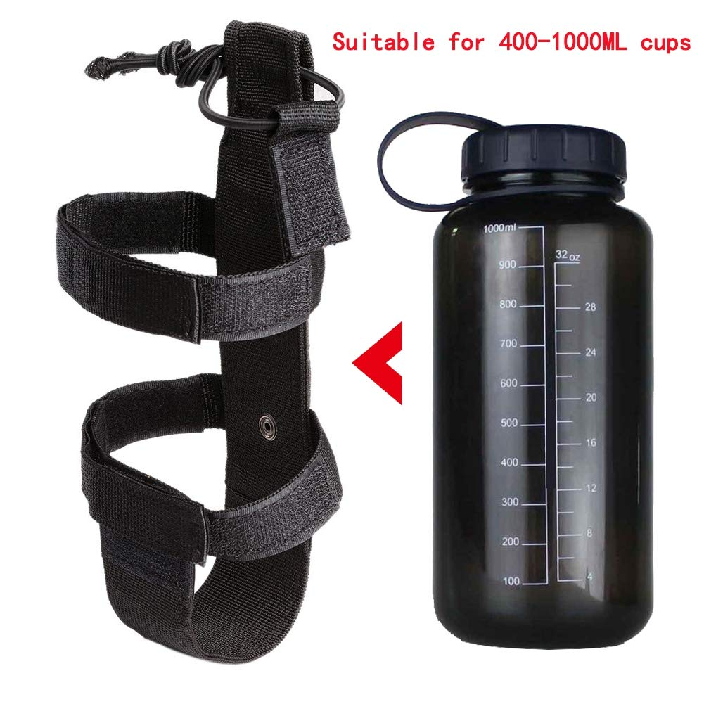 Amazon.com : MacRoog Molle Nylon Water Bottle Bags Outdoor Cup Storage Molle Bag : Sports & Outdoors