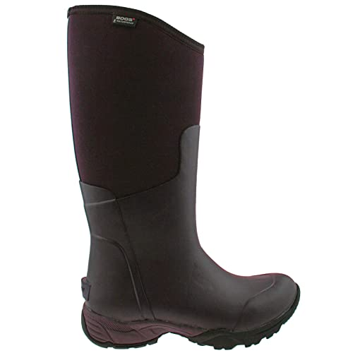 Black All Sizes Bogs Essential Light Tall Solid Womens Boots Wellies