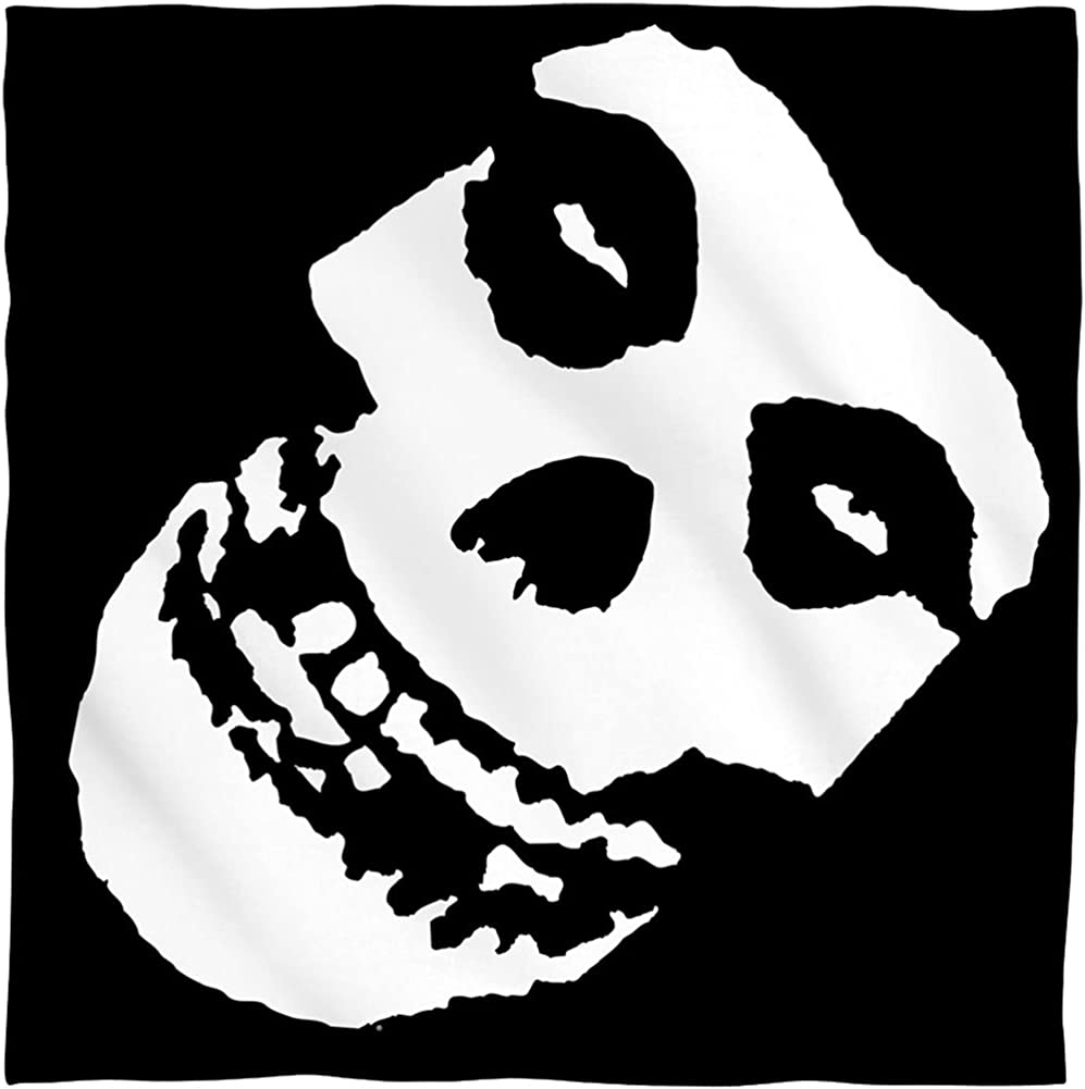 """Misfits /""""Fiend Skull/"""" Bandana"""