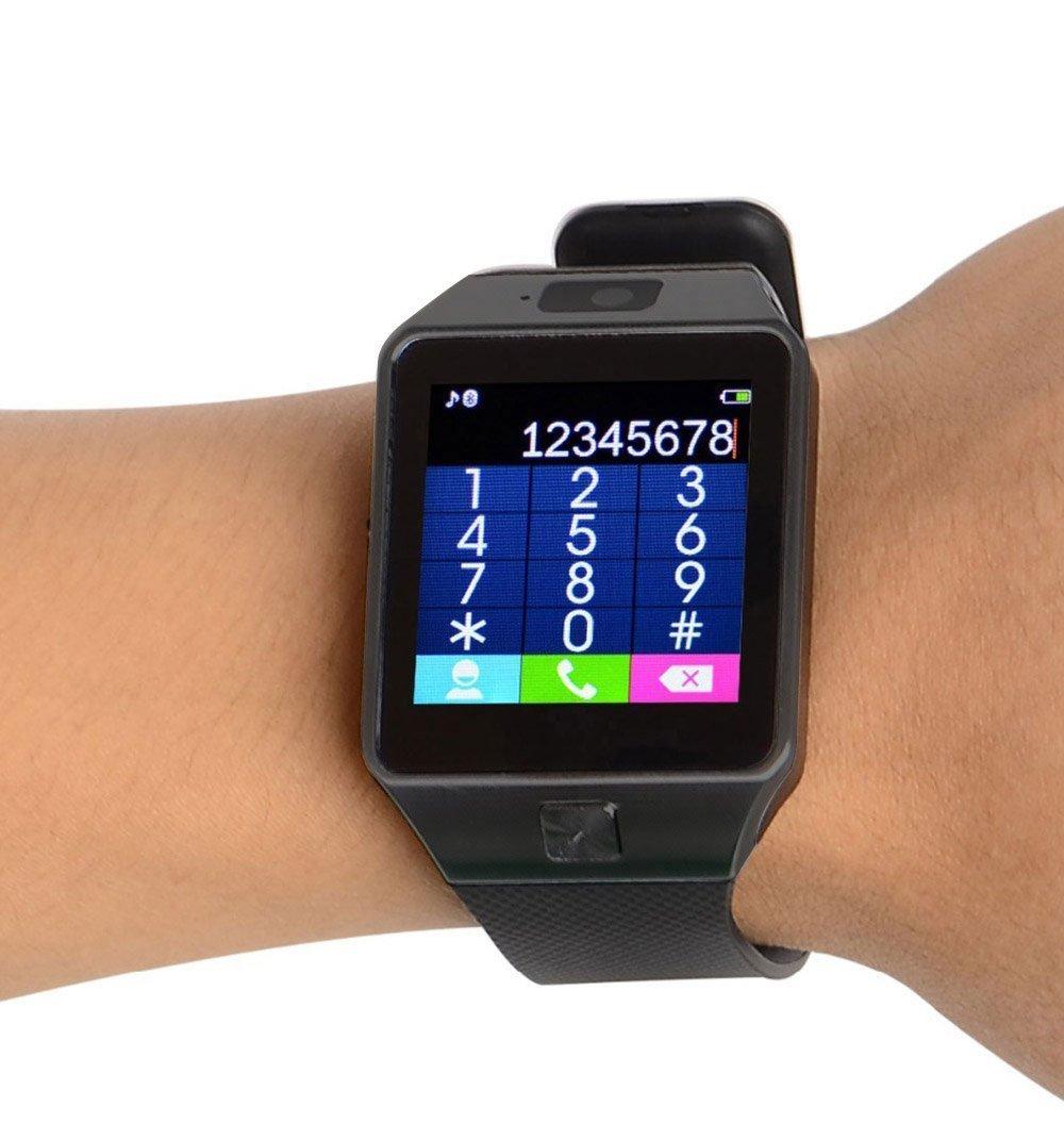 Bluetooth Smart Watch DZ09, Penvi Smartwatch GSM carte SIM avec ...