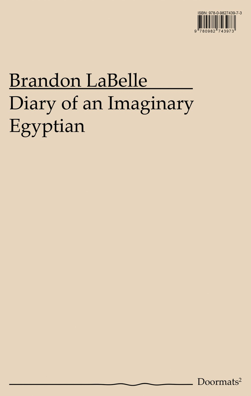 Read Online Diary of an Imaginary Egyptian (Doormats) pdf
