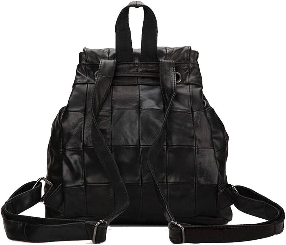 Win8Fong Womens Leather Shoulder Messenger Bag Satchel Backpack Travel Bag