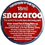 Snazaroo Professional Non Toxic Washable Water Based Reusable Kids Fun School Fete Face Paint Pots Over 30 Colours (18ml Bright Red)