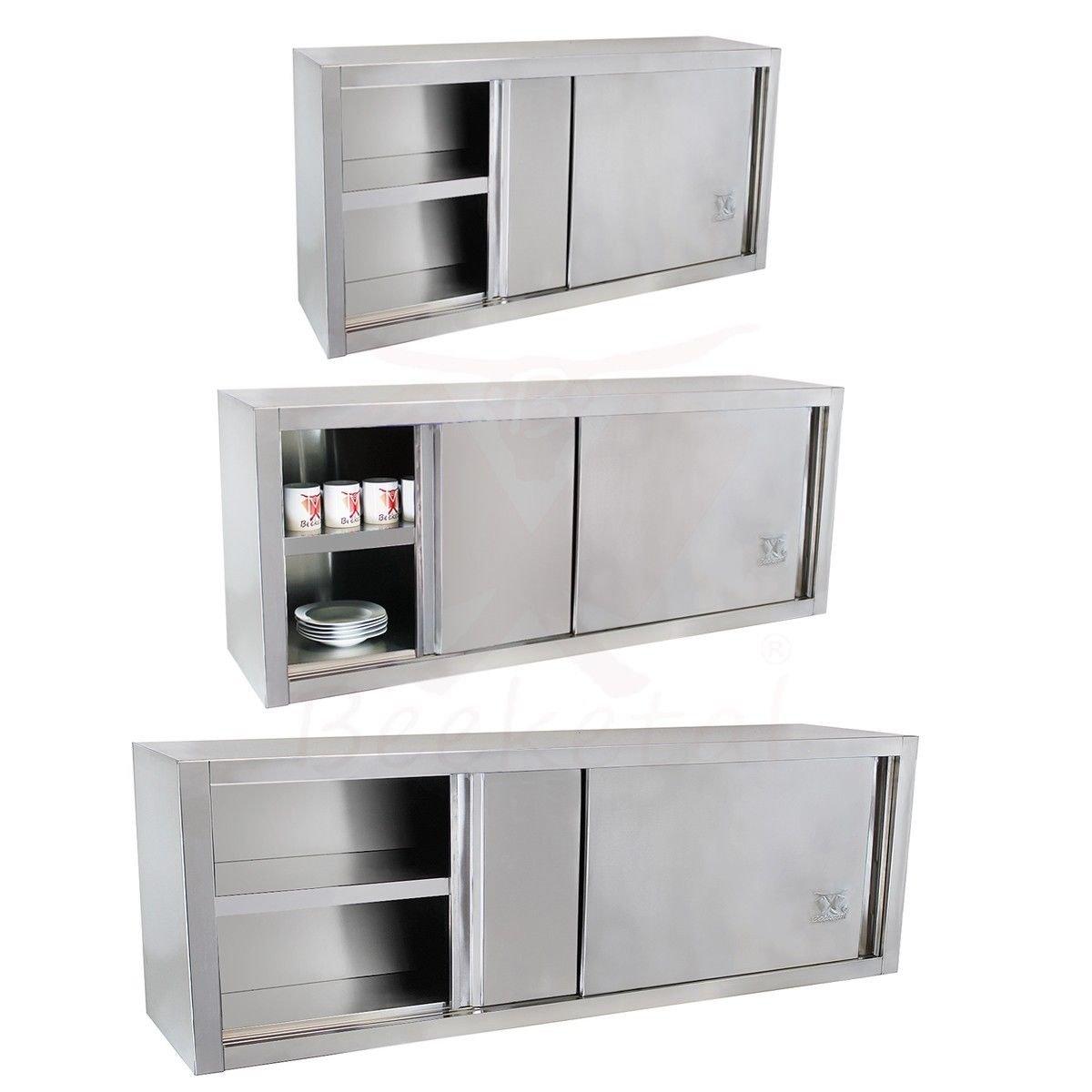 Amazon.de: Beeketal \'BWS160\' Gastro Küchen Wandhängeschrank aus ...