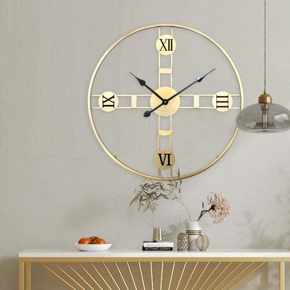 LWSJP 掛け時計 壁掛け ホーム 玄関 ベッドルーム 61 * 61(cm)の 壁掛け時計