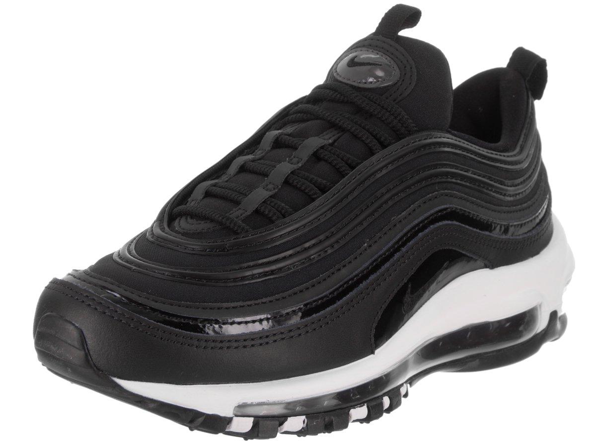NIKE Women's Air Max 97 PRM Black/Black/Anthracite Casual Shoe 10 Women US
