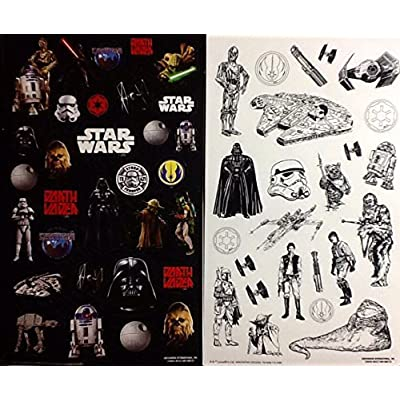 Star Wars Color-in Sticker Set 2015 Lucas Film Ltd. & Disney: Kitchen & Dining