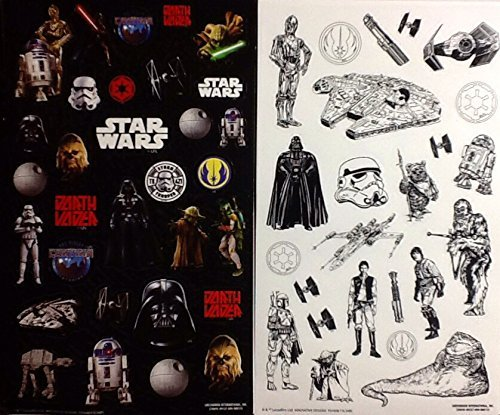 Star Wars Color Sticker Disney