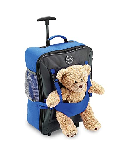 99d4655bddb Cabin Max Bear Bag Childrens Suitcase on Wheels 50x34x20cm/20x13.5x8 inches  - 33L - Lightweight!: Amazon.co.uk: Luggage