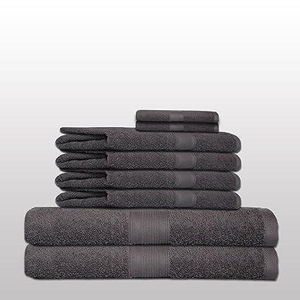 SHC Textilien Set de 8 Toallas clásico -. Calidad 500 g/m² - todos