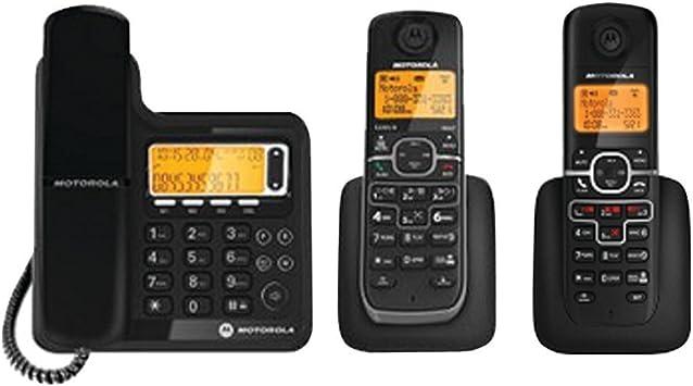 Motorola l703 C DECT 6.0 con Cable/Sistema de teléfono inalámbrico con Sistema de Respuesta Digital (2 inalámbrico han: Amazon.es: Electrónica