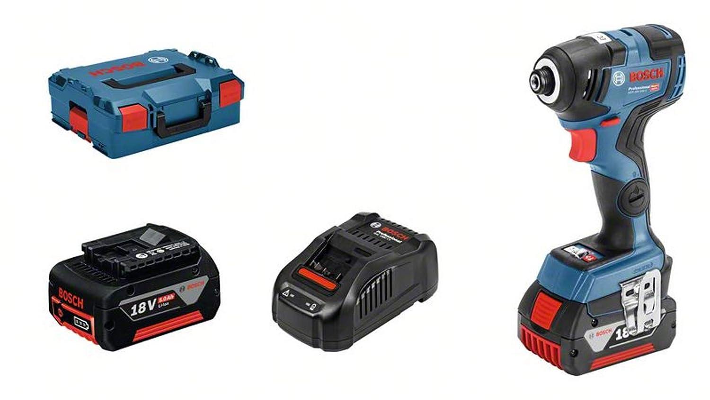 Bosch Professional visseuse à chocs sans-fil GDR 18V–200 C (avec batterie, 18 V, couple : 200 Nm, L-BOXX 136)