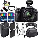 Panasonic Lumix DMC-FZ300 Digital Camera + Extra battery + Charger + 96GB Bundle 10