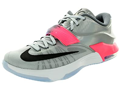 743fcbe0d7b3 NIKE KD VII AS Mens Basketball Shoes 742548-090 Pure Platinum Multicolor- Black 9