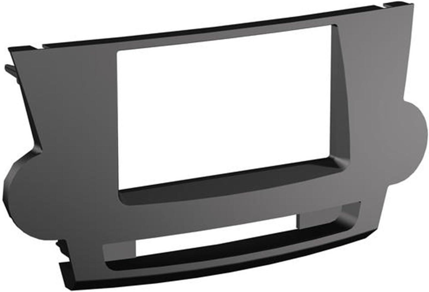 SCOSCHE TA2089B 2008-13 Toyota Highlander (Black) Double DIN or DIN w/Pocket Install Dash Kit