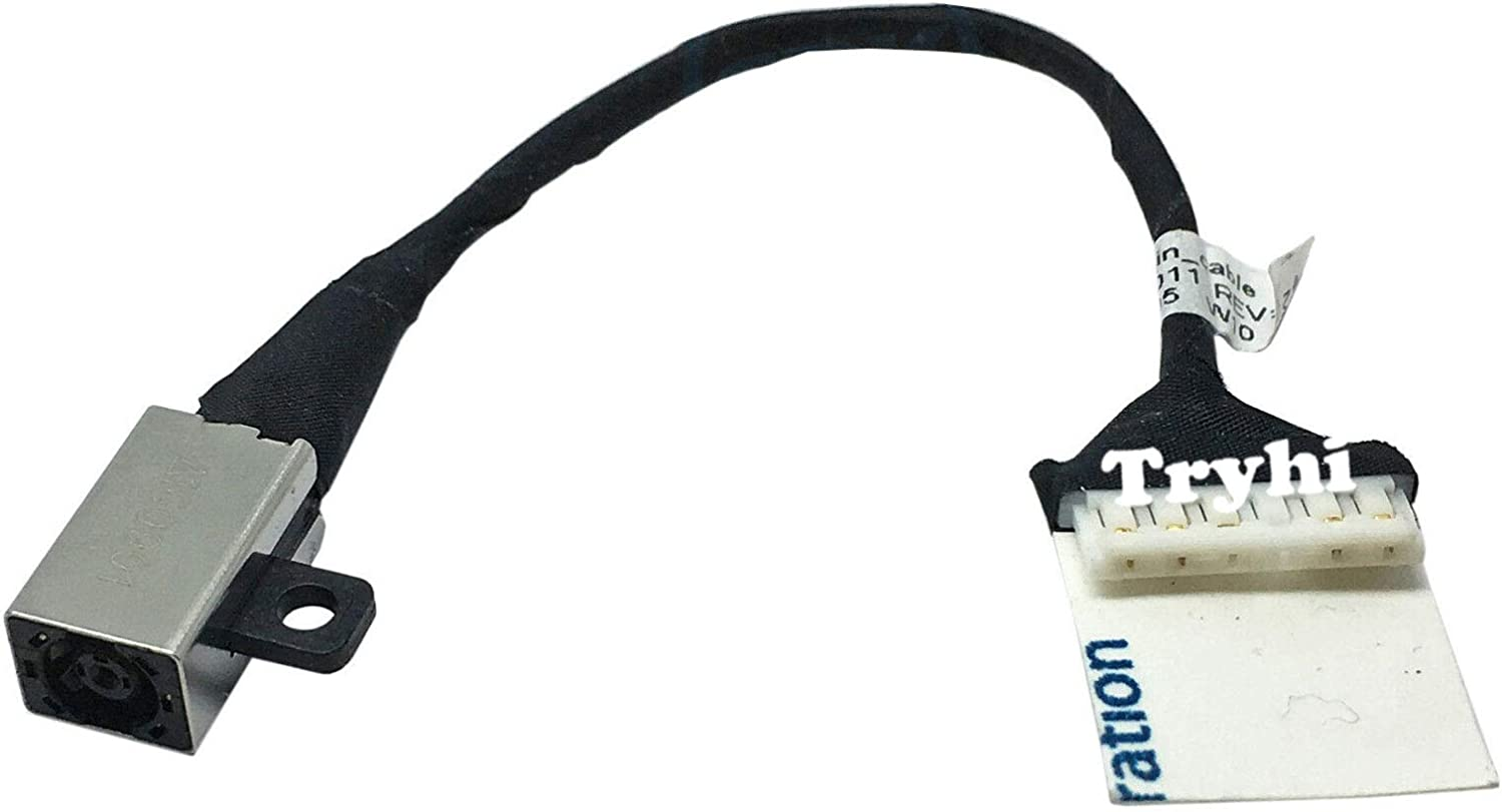 Laptop DC in Power Jack Cable for Dell Inspiron 15 3585 i3585-A080BLK-PUS CN-0228R6 228R6 I3585-A831BLK-PUS Notebook Charging Port Plug in Socket Connector Harness Wire New