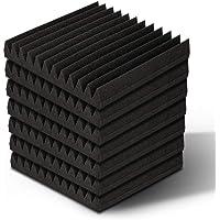 Acoustic Foam Panels 40pcs 12-Tooth Wedge Studio Foam Soundproof Panels, 30 x 30cm Artiss