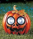 Halloween Solar Garden Statue Pumpkin