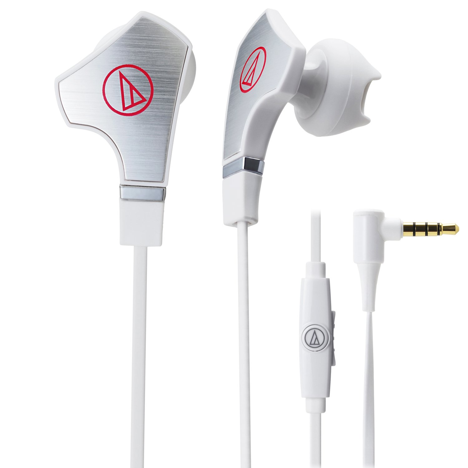 AUDIO TECHNICA ATH-CHX7iS SonicFuel Hybrid Earbud Headphones for Smartphones / ATH-CHX7ISWH /