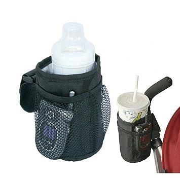 Baby Pram Buggy Cup Bottle Holder Bag for Stroller Wheelchair Rollator Walker
