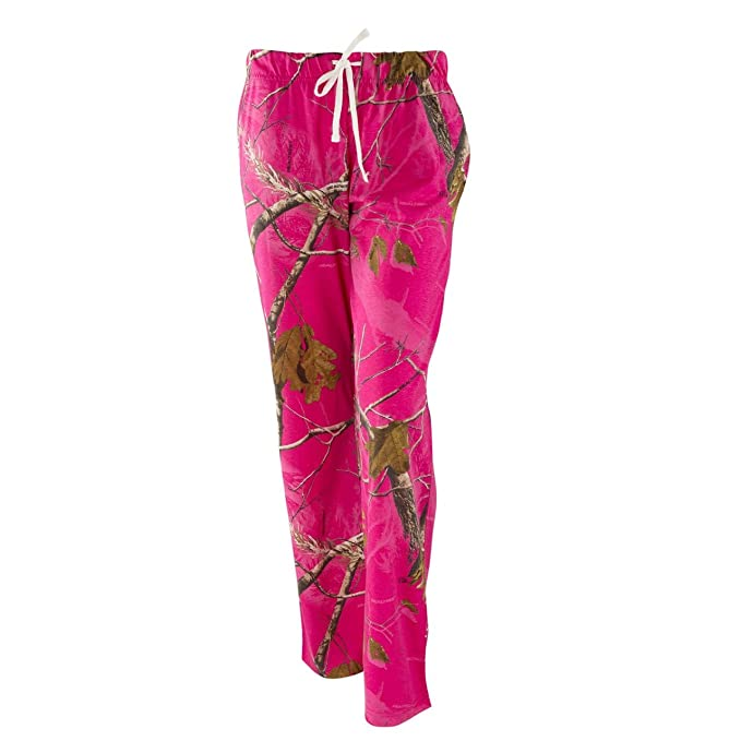 0c0f90cc6d1a2 Realtree Ladies Lounge Pants AP Hot Pink at Amazon Women's Clothing ...