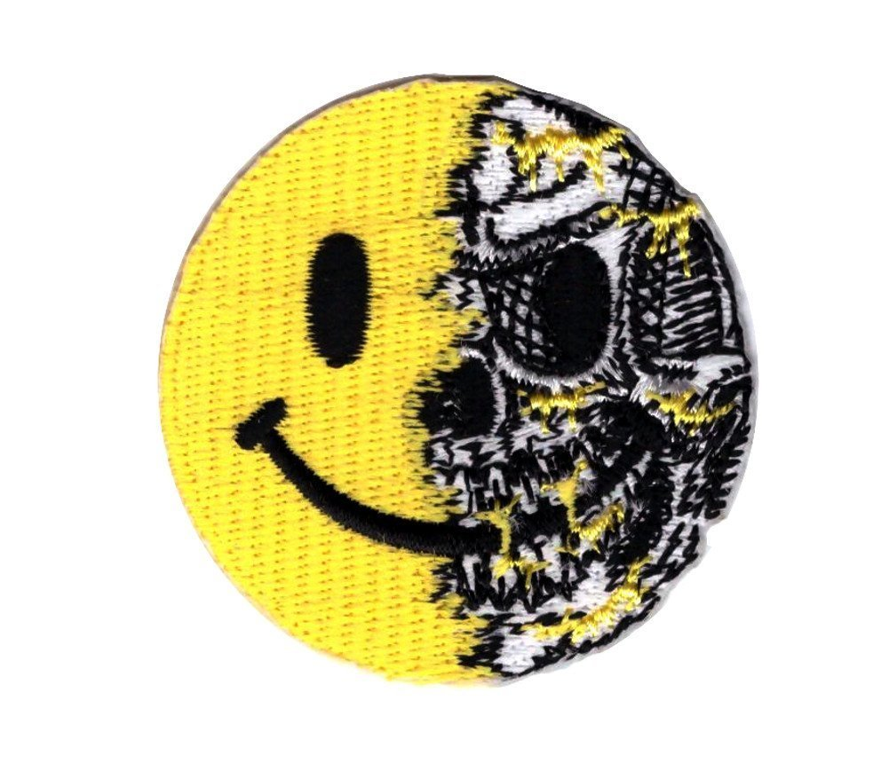 Tactical Smiley Skull Patch Parche Bordado Tactico Titan One Europe