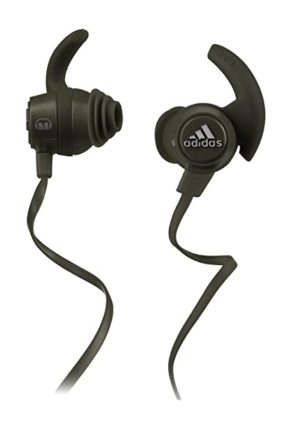 Amazon.com: Monster 137020-00 Adidas Performance Response Earbud Headphones, Olive Green: Home Audio & Theater