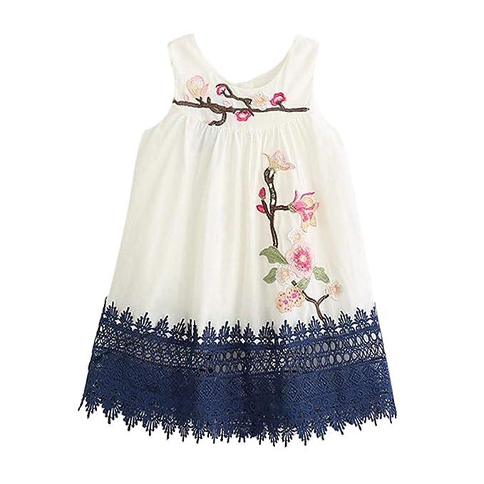 Modaworld - Vestido de verano para niña o niña, falda de tul chic ...