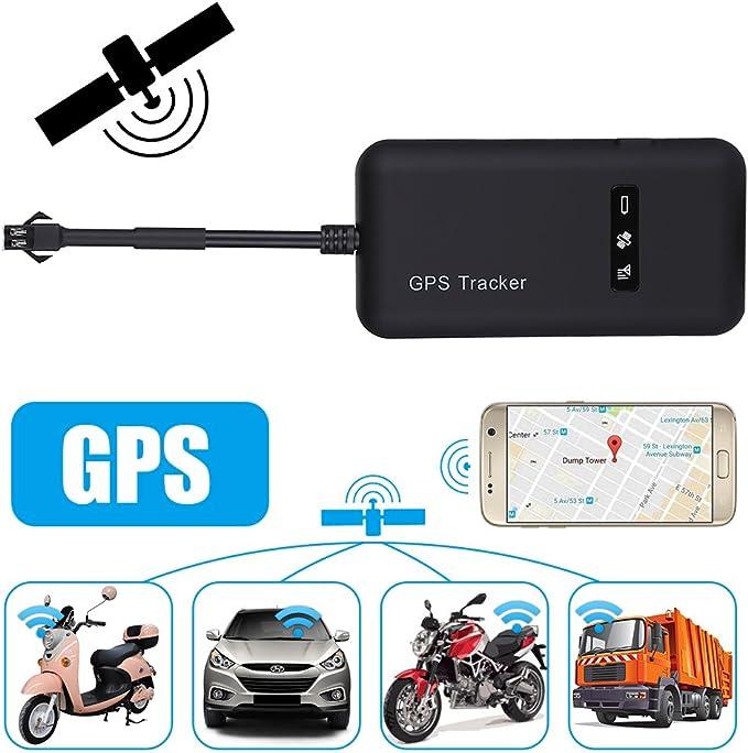 AGM GPS Rastreador de coche, vehículo Tracker tiempo real ...